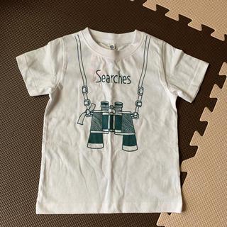 しまむら - キッズTシャツ 半袖 半ティー 100センチ 男の子 未使用