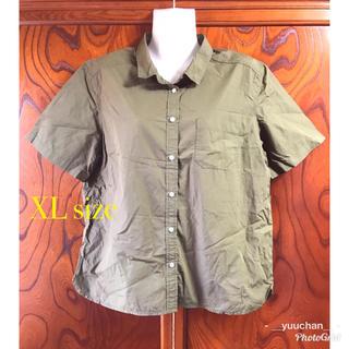 ジーユー(GU)のGU 半袖シャツ☆XLサイズ(シャツ/ブラウス(半袖/袖なし))