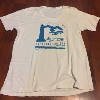 ジーユー(GU)のtシャツ (Tシャツ/カットソー(半袖/袖なし))