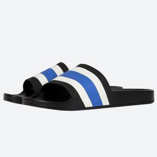 フィアオブゴッド(FEAR OF GOD)の最安値 mnml striped slides sandals black(サンダル)