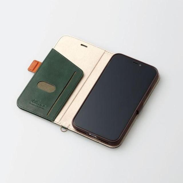 ELECOM - ソフトレザー【iPhone XR】手帳型ケース マグネット付き(グリーン)の通販 by T4K's shop|エレコムならラクマ