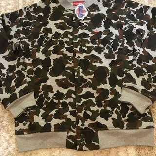 シュプリーム(Supreme)のSupreme Duck Camo Varsity Jacket 希少XLサイズ(ブルゾン)