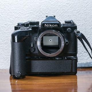 ニコン(Nikon)のNIKON FE モードラ MD-12付き(フィルムカメラ)