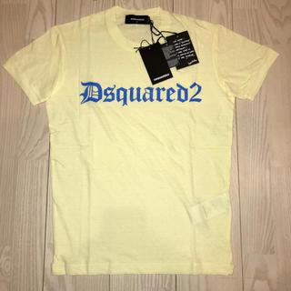 DSQUARED2 - ★新品★サイズ S ディースクエアード Tシャツ イエロー  デニム