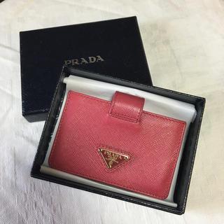 c728aabf16f5 プラダ(PRADA)の美品 PRADA プラダ カードケース カード入れ (コインケース