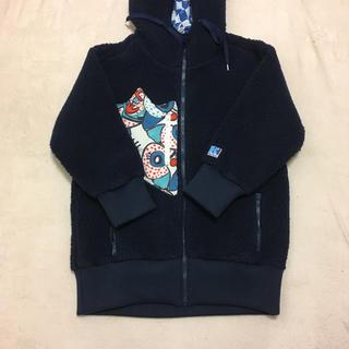 ツモリチサト(TSUMORI CHISATO)のツモリチサト ヘリーハンセン  コラボ フリースジャケット(ブルゾン)