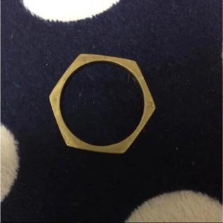 アッシュペーフランス(H.P.FRANCE)のaquvii 六角形 リング(リング(指輪))