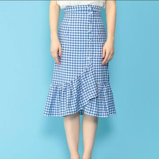 デイシー(deicy)のdeicy  完売ギンガムチェックスカート(ひざ丈スカート)