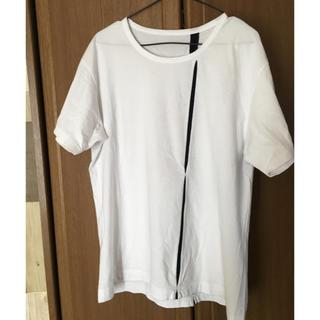 ヨウジヤマモト(Yohji Yamamoto)のGrand Y Tシャツ ヨウジヤマモト yojiyamamoto(Tシャツ/カットソー(半袖/袖なし))