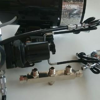 タミヤ エアブラシ コンプレッサー 3連ジョイント