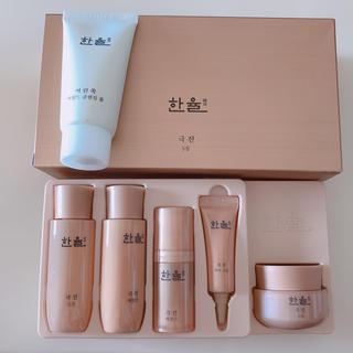 アモーレパシフィック(AMOREPACIFIC)のHANYUL GEUKJIN  ハンユル 基礎化粧品 5点set + 洗顔(サンプル/トライアルキット)