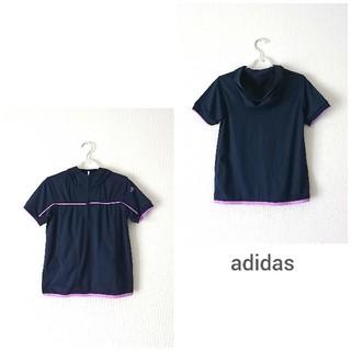 アディダス(adidas)の【未使用品】adidas・レディースゴルフウェア 半袖パーカー XS(ウエア)