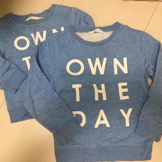 エイチアンドエム(H&M)のお揃いトレーナー(Tシャツ/カットソー)