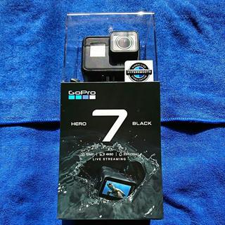 ゴープロ(GoPro)の新品未使用 未開封 GOPRO HERO7 Black 正規品保証書 納品書付き(ビデオカメラ)