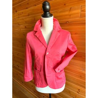 ディーゼル(DIESEL)のDIESEL ディーゼル ジャケット 七分袖 ピンク(テーラードジャケット)