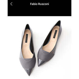 ファビオルスコーニ(FABIO RUSCONI)のファビオルスコーニ フラットパンプス(ハイヒール/パンプス)