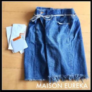 1LDK SELECT - ブルー◆ MAISON EUREKA  REWORK BIGGY SHORTS