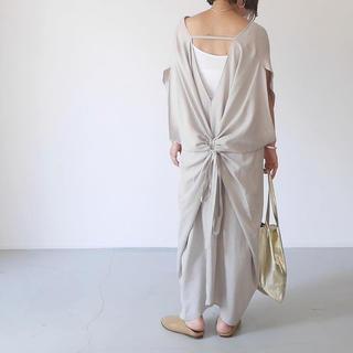 ロンハーマン(Ron Herman)のargue Linen×Tencel Caftan-Dress(ロングワンピース/マキシワンピース)