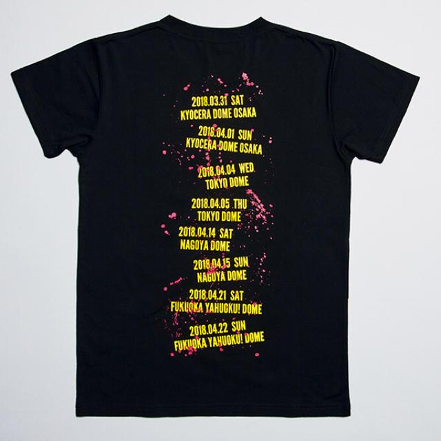 ONE OK ROCK(ワンオクロック)の【美品】ONE OK ROCK Tシャツ 2018 Ambitions メンズのトップス(Tシャツ/カットソー(半袖/袖なし))の商品写真