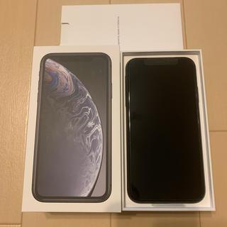 iPhone - iPhone XR 64GB ブラック SIMフリー