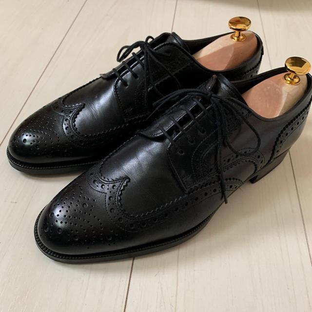 REGAL(リーガル)のgoodgoodgolfgolf様専用   リーガル ウィングチップ メンズの靴/シューズ(ドレス/ビジネス)の商品写真