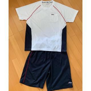 フィラ(FILA)のFILA Tシャツセットアップ  Mサイズ  新品タグ無し(Tシャツ/カットソー(半袖/袖なし))