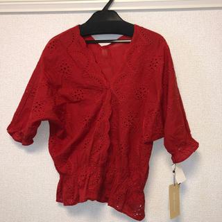 シマムラ(しまむら)のレースブラウス(シャツ/ブラウス(半袖/袖なし))