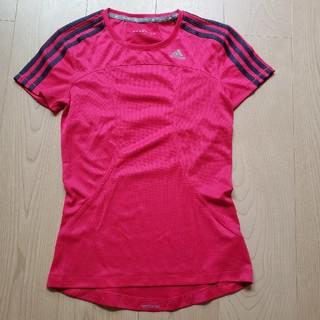 アディダス(adidas)のadidas 半袖Tシャツ ピンク Sサイズ(その他)