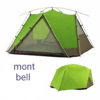 モンベル(mont bell)の新品 mont bell ムーンライトテント7型 GN グリーン(テント/タープ)