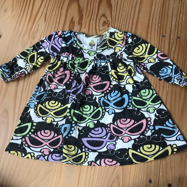 HYSTERIC MINI(ヒステリックミニ)のヒステリックミニ ワンピース キッズ/ベビー/マタニティのベビー服(~85cm)(ワンピース)の商品写真