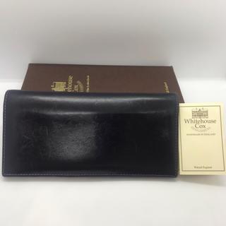 WHITEHOUSE COX - 【良品】定価¥45,360 ホワイトハウスコックス S9697L 長財布