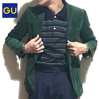 ジーユー(GU)のG.U. ベロア ジャケット(テーラードジャケット)