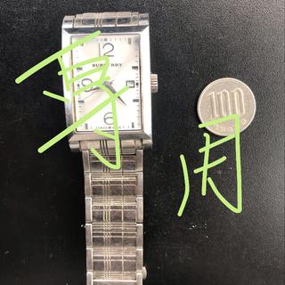 バーバリー(BURBERRY)のバーバリー  腕時計 メンズ(金属ベルト)