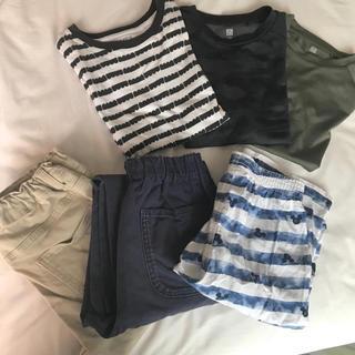 ユニクロ(UNIQLO)のユニクロ GU Tシャツ ズボン リラコ セット(Tシャツ/カットソー)