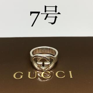 Gucci - [美品]GUCCI 指輪 リング 7号 箱付き