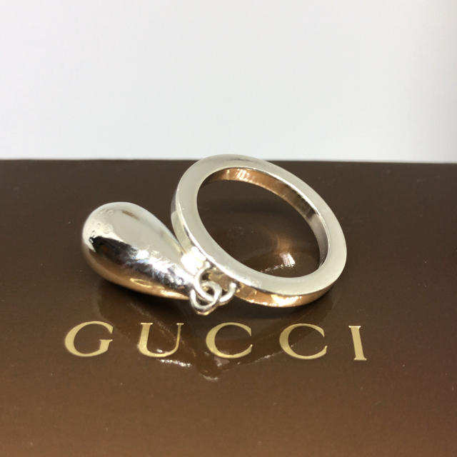 Gucci(グッチ)の[希少美品]GUCCI 指輪 リング 16号 箱付き メンズのアクセサリー(リング(指輪))の商品写真