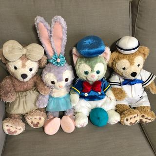 Disney - ぬいぐるみ Sサイズ セット ダッフィー シェリーメイ ジェラトーニ ステラルー
