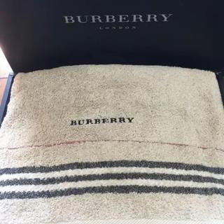 バーバリー(BURBERRY)の【新品】BURBERRY バスタオル(タオル/バス用品)