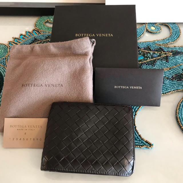 Bottega Veneta(ボッテガヴェネタ)のボッテガ・ヴェネタ 折り財布 レディースのファッション小物(財布)の商品写真