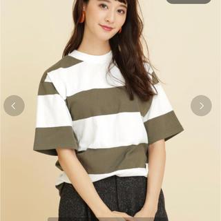 ナノユニバース(nano・universe)のnano universe 太ボーダーTシャツ(Tシャツ(半袖/袖なし))