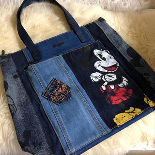 DESIGUAL - 【Desigual】 ディズニーコラボ  Mickey Mouse トートバッグ