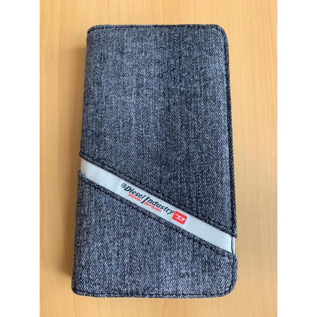 DIESEL(ディーゼル)のiPhoneケース 手帳型 スマホ/家電/カメラのスマホアクセサリー(iPhoneケース)の商品写真