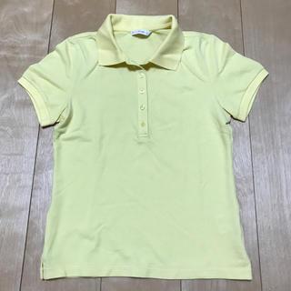 ユニクロ(UNIQLO)のユニクロ ポロシャツ S  イエロー(ポロシャツ)