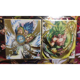 ドラゴンボール - ドラゴンボール 色紙art ゴジータ&ブロリー