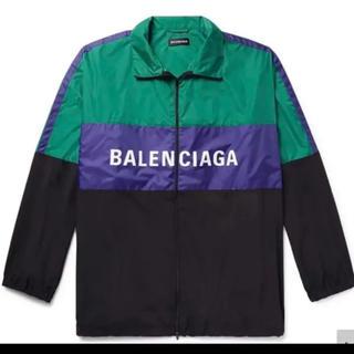 バレンシアガ(Balenciaga)の新品バレンシアガbalenciagaトラックジャケット50トラックジャケット(ナイロンジャケット)