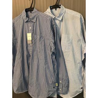 ビームス(BEAMS)のBEAMS SSZ × AH ビッグシャツ 2色セット(シャツ)