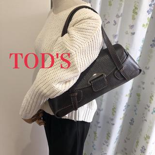 トッズ(TOD'S)の【美品】TOD'S 肩がけショルダーバッグ(ショルダーバッグ)