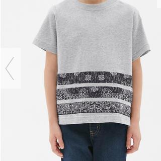 ジーユー(GU)のGU☆ペーズリー柄Tシャツ 110 140セット(Tシャツ/カットソー)