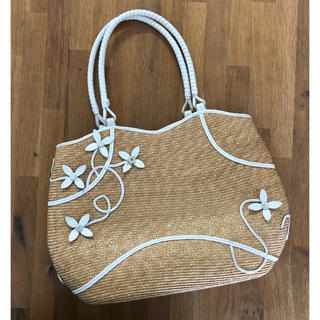 Cole Haan - 【コールハーン】お花モチーフが可愛い♡カゴバッグ