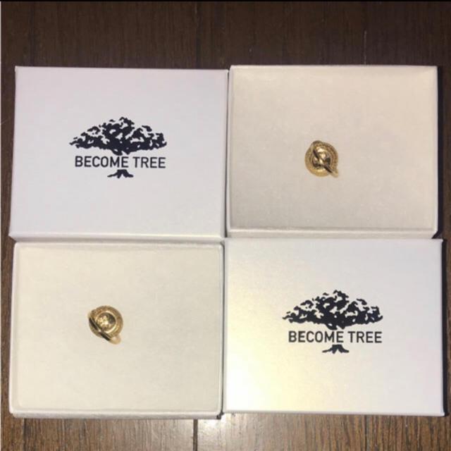 BECOME TREE ピアス TAKUYA∞着用 メンズのアクセサリー(ピアス(両耳用))の商品写真